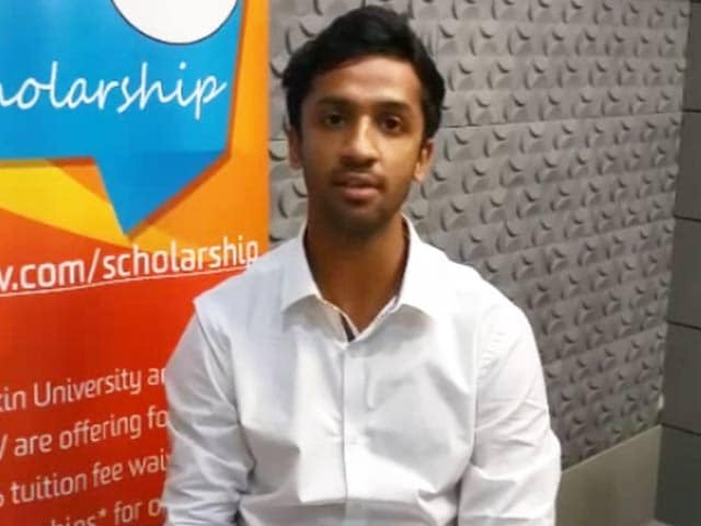 Video: NDTV-Deakin Scholarships 2017: Meet The Winners