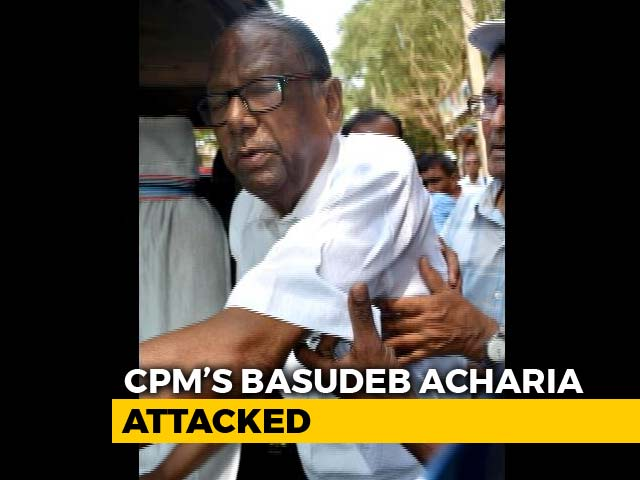 Video : Ahead Of Panchayat Polls, Veteran CPI(M) Leader Attacked In Bengal