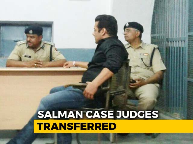 Judge Hearing Salman Khan Bail Request Among 87 Transferred In Rajasthan