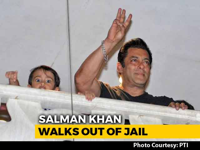 Video : Salman Khan Back In Mumbai After Spending 2 Nights In Jodhpur Jail