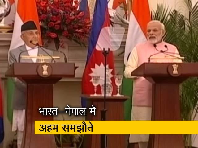 Videos : रक्सौल-काठमांडु के बीच रेल लाइन बिछायेगा भारत