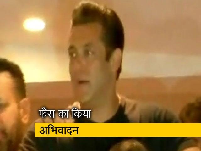 Video : जोधपुर से मुंबई पहुंचे सलमान खान