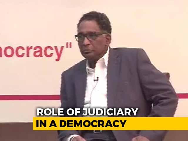 Video : 'Impeachment Is No Solution': Justice J Chelameswar