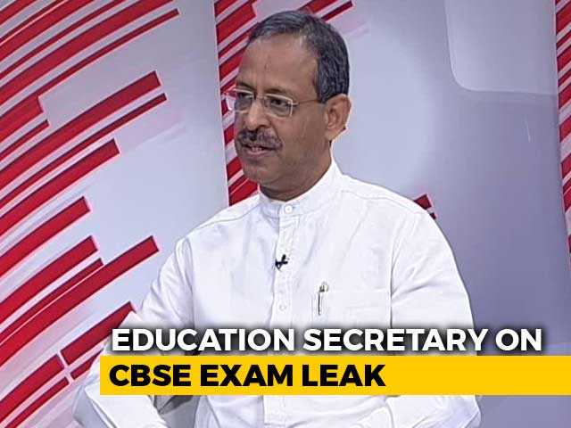 Video : CBSE In Clear, Centre Grappling With Mafia In Education: Top Officer