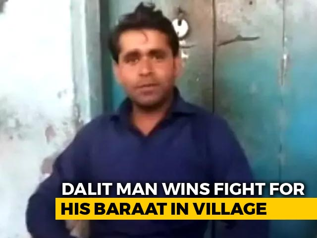 Video : Dalit Man Wins Fight For His <i>Baraat</i> In Village, Says It Was For Equality