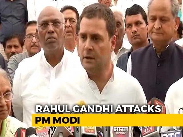 "Video : ""We Will Defeat The BJP In 2019"": Rahul Gandhi At Raj Ghat"