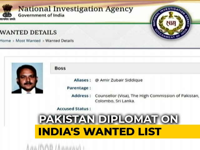 Video : Pak Diplomat On India's 'Most Wanted' List For Alleged 26/11-Style Plot
