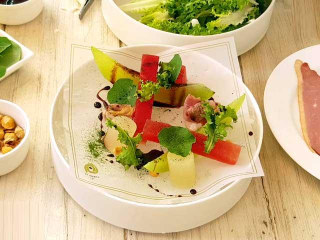 Video : Duck & Melon Salad