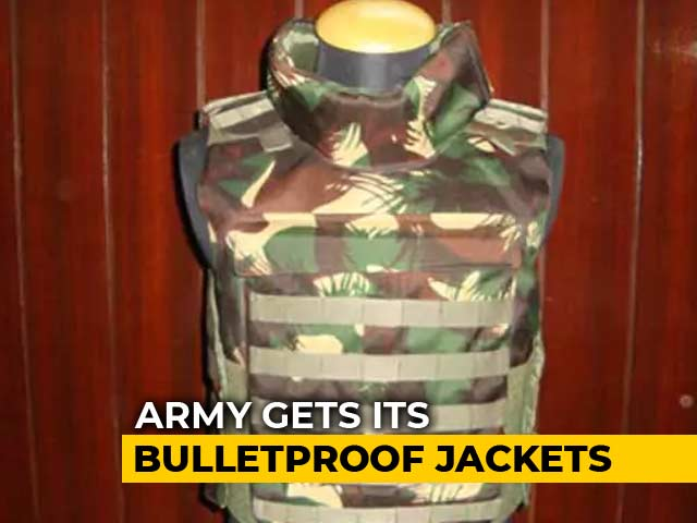 Video : After 9-Year Wait, Indian Soldiers To Finally Get Bulletproof Jackets