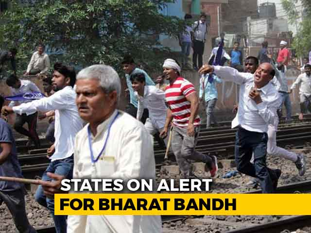 Video : <i>Bharat Bandh</i> Triggers Violence In Bihar, 12 Injured In Clashes