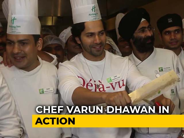 Watch! Chef Varun Dhawan In Action