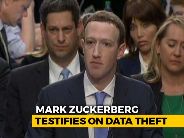 Video : I Started Facebook And Am Responsible, Says Mark Zuckerberg In Testimony