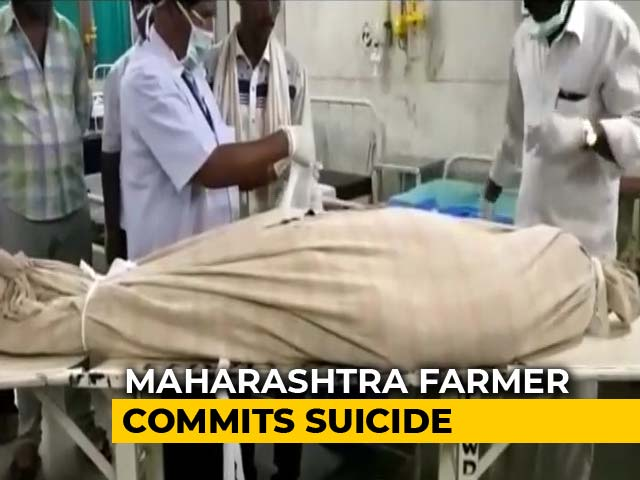 Video : Maharashtra Farmer Drinks Poison, Names PM Modi In Suicide Note