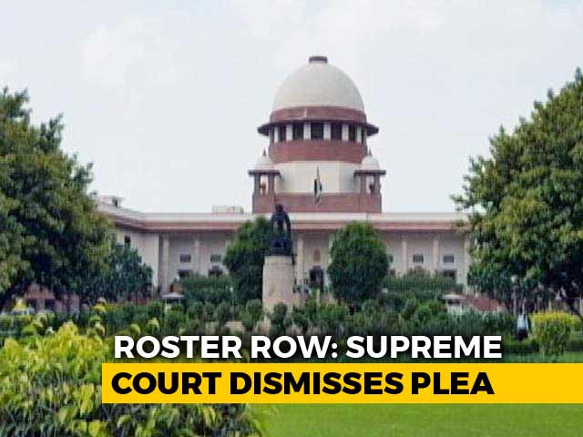 "Video : Can't Distrust Chief Justice, Plea ""Scandalous"", Says Supreme Court"