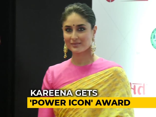 Video : Kareena Kapoor Khan Gets 'Power Icon' Award