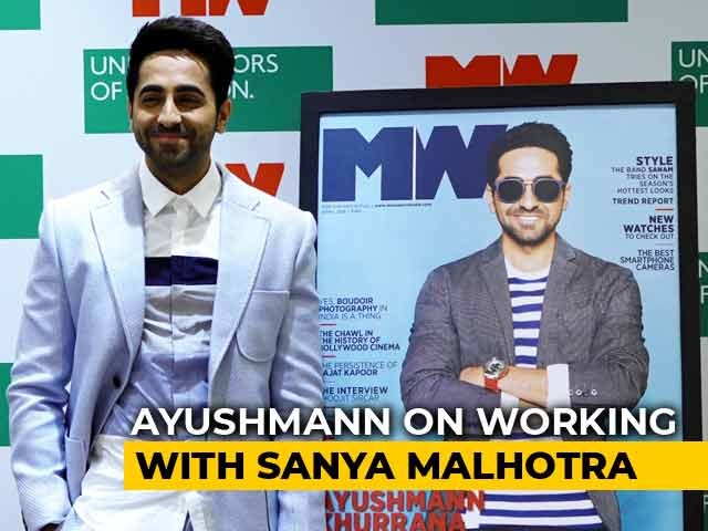 Ayushmann Khurrana On Working With Sanya Malhotra