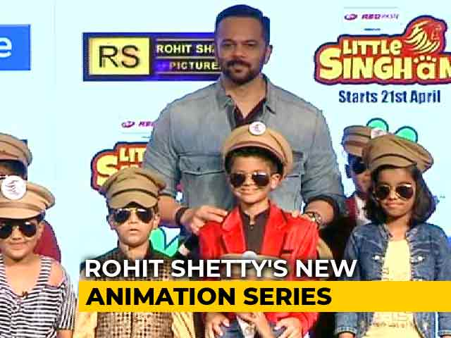 Rohit Shetty On Animation Series 'Little Singham'