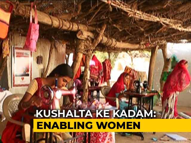 Video: How Imagination Of Rural Women Can Create The Most Exquisite Garments