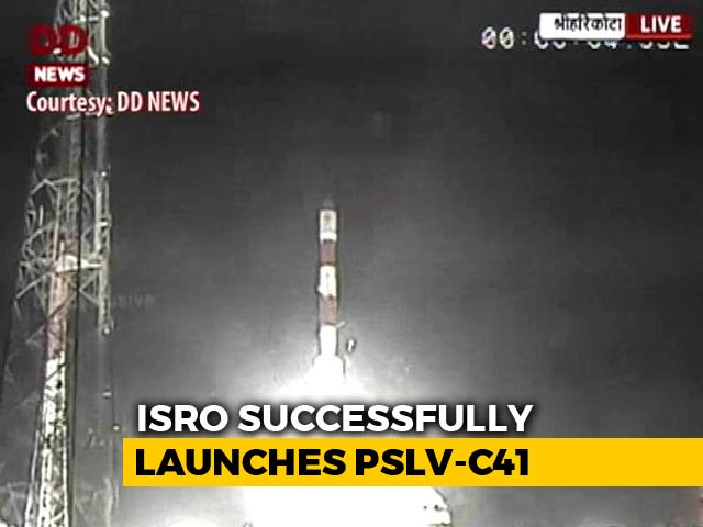 Video : ISRO Successfully Launches IRNSS-1I Navigation Satellite From Sriharikota