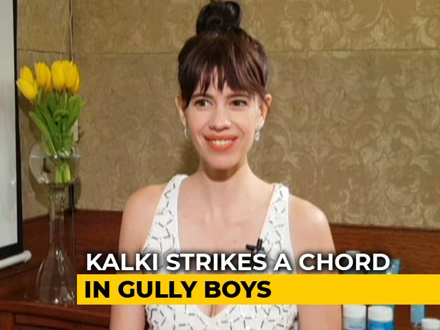 Video : I Will Sing, Ranveer Will Rap In <i>Gully Boy</i>: Kalki Koechlin