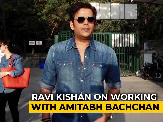 Bhojpuri Film Star Ravi Kishan On Working With Amitabh Bachchan