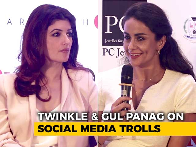Video : Twinkle Khanna & Gul Panag On Social Media Trolls