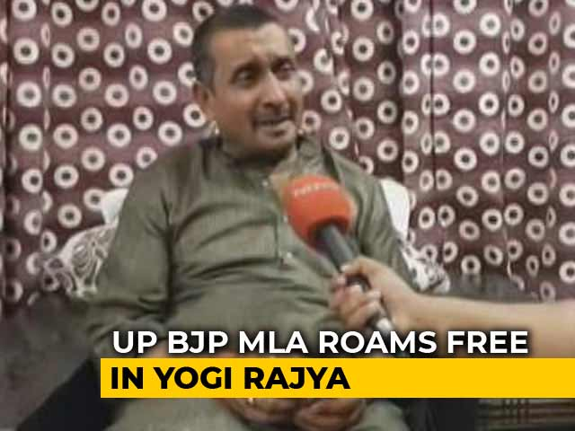 Video : In Unnao Rape, Still No Arrest For BJP Lawmaker, Police's Defence