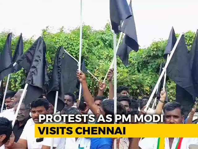 Video : #GoBackModi Trends Globally As PM Visits Chennai: Planned Or Spontaneous?