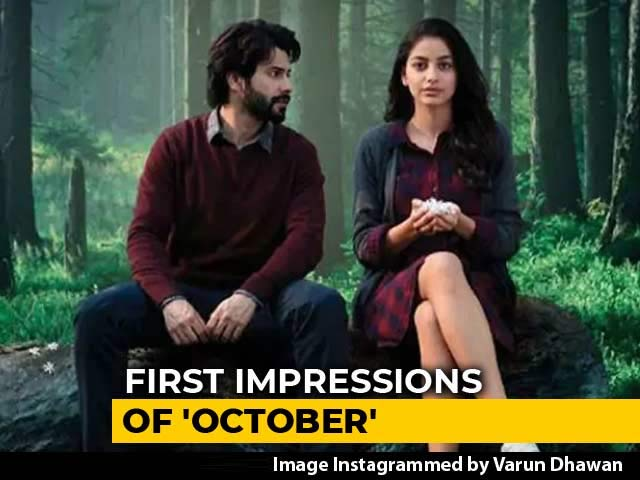 First Impressions Of Varun Dhawan's October