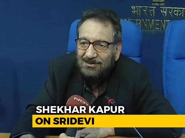 Video : Sridevi One Of The Best I've Worked With: Shekhar Kapur