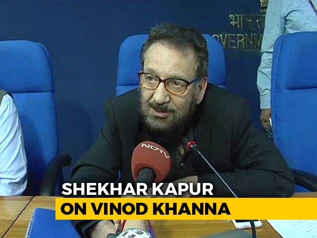'Great Friend, Great Guy': Shekhar Kapur On Vinod Khanna