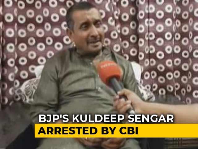 Video : After Court Order, CBI Arrests BJP's Kuldeep Sengar In Unnao Rape Case