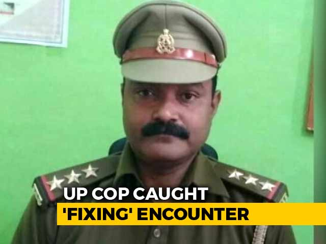 "Video : ""Manage"" BJP Lawmaker... : UP Cop Allegedly Heard 'Fixing' Encounter"