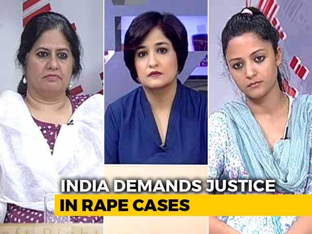 Video : India Speaks Up Against Kathua, Unnao Rape Cases