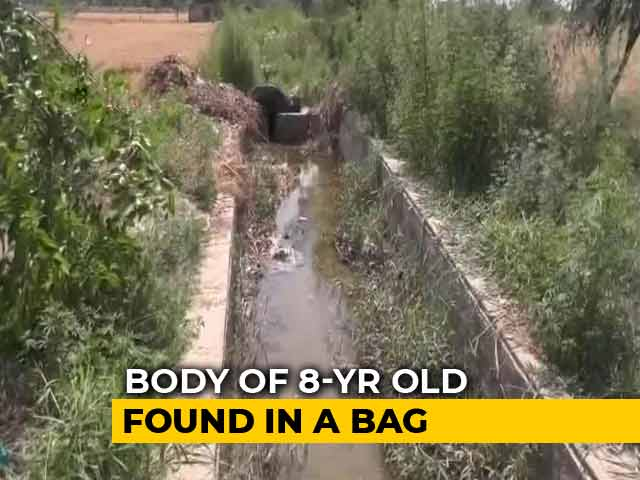 Video : Girl's Body, Hand Missing, Fished Out Of Drain In Haryana's Rohtak