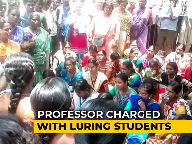 Sex For Degrees In Tamil Nadu College? Professor Investigated