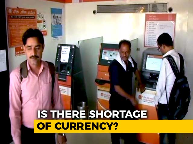 Video : As Empty ATMs Reported, RBI Says Shortage Due To Logistical Reasons