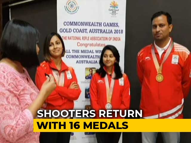Video : After CWG, Indian Shooters Plan To Peak In Asian Games