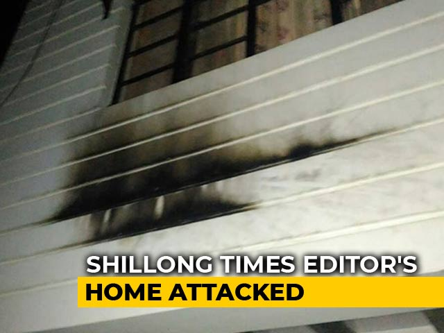 Video : Meghalaya: Bomb Hurled At The Residence Of Patricia Mukhim, Editor Of The Shillong Times