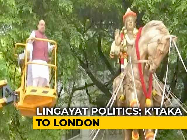 Video : From Karnataka To London, Politics Over Lingayat Votes Takes A Giant Leap