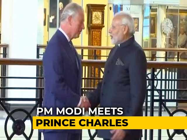 Video : PM Modi Meets Theresa May, Prince Charles
