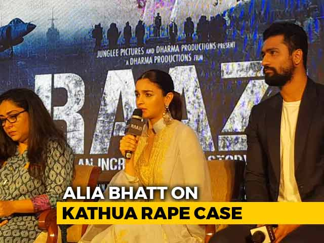 As A Citizen Of This Country, I Am Hurt: Alia Bhatt On Kathua Rape Case