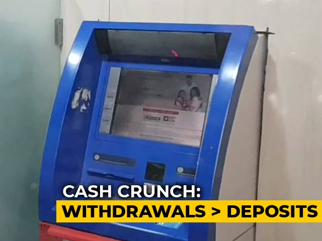 Video : Spike In Withdrawals, Not Enough Deposits Caused Cash Crunch, Data Shows
