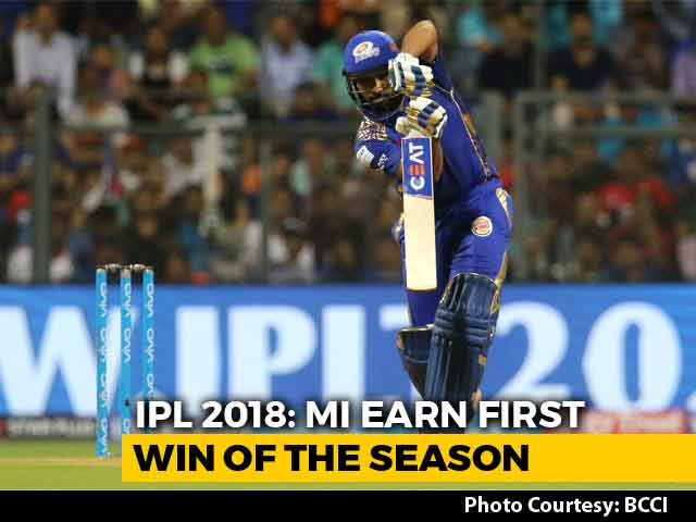 Video : Rohit Sharma Returns To Form As MI Beat RCB To Earn First Win Of The Season