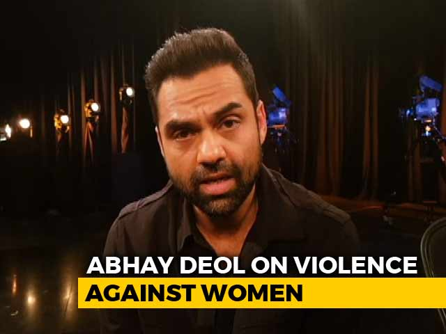 Empower Women To Reduce Violence Against Them: Abhay Deol