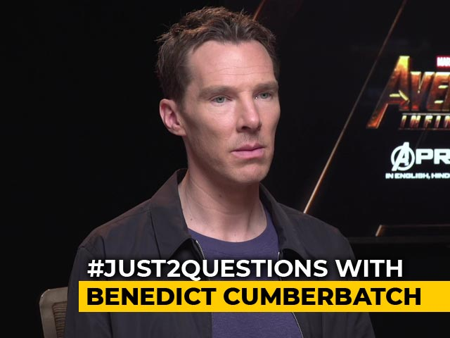 #Just2Questions: Benedict Cumberbatch On Renaming His Female Fan Clubs