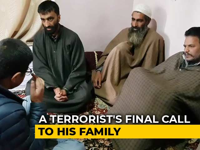 "Video : ""Greatest Death"": Why Parents Are Letting Sons Join Terrorism In Kashmir"