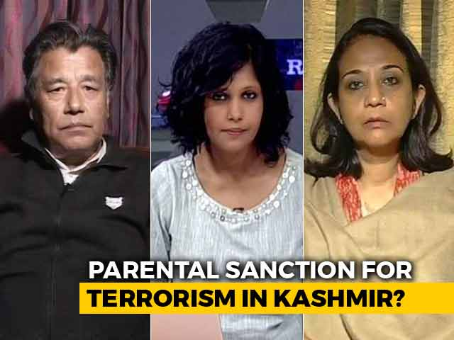 Video : New Threat In Kashmir: Parental Sanction For Terrorism?