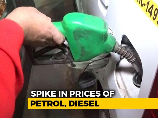 Video : Petrol Price Surges To Rs. 74.07 In Delhi, Highest Since September 2013