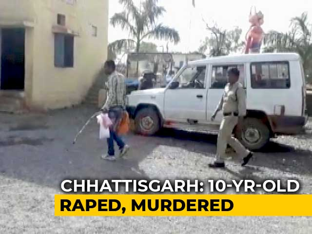Video : 10-Year-Old Girl Raped, Head Smashed With Stone In Chhattisgarh Village